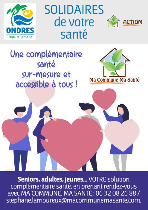 «Ma Commune, Ma Santé» : une complémentaire santé pour tous !
