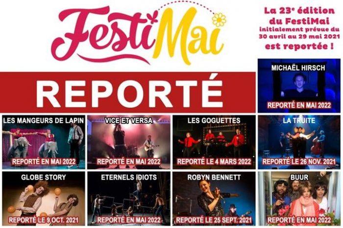 FestiMai 2021 reporté