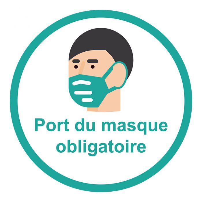 Règlementation port du masque dans les Landes