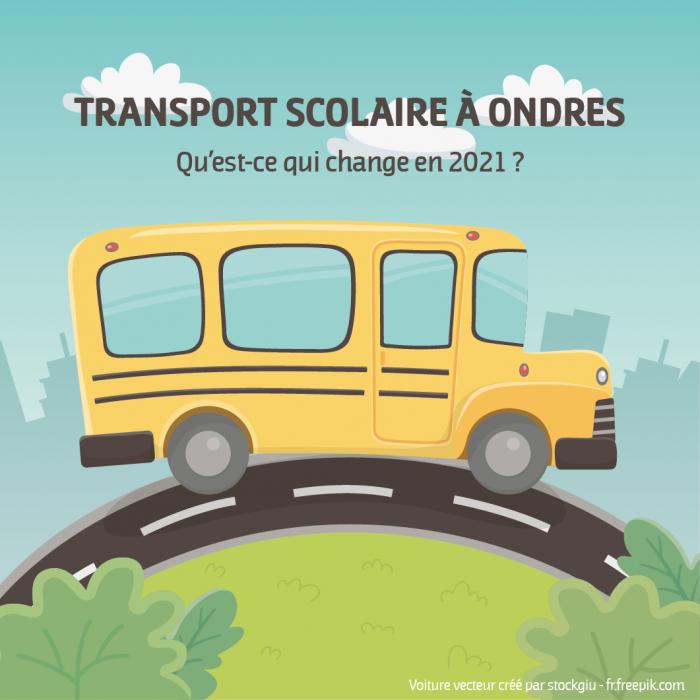 Rentrée 2021 et transport scolaire, qu'est-ce qui change ?